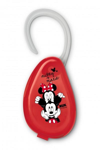 NUK Disney Mickey Schnullerbox, rot