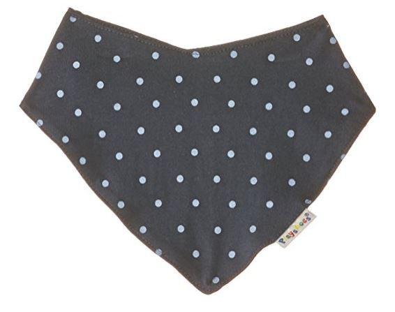 Playshoes Baby Halstuch dunkelblau-gepunktet 45x17