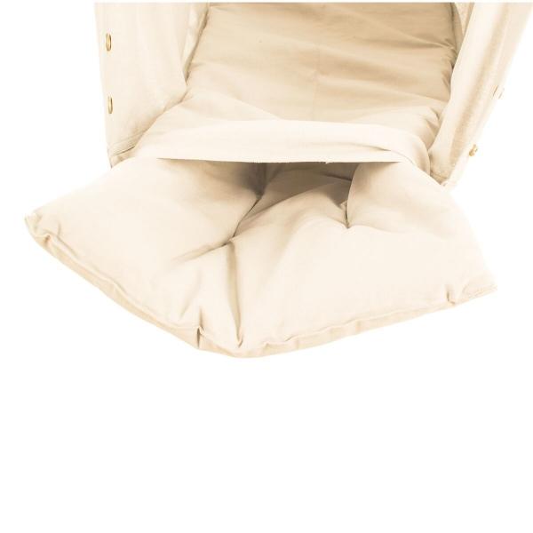 NONOMO Matratze Baby Kunstfaser für Federwiege - natur