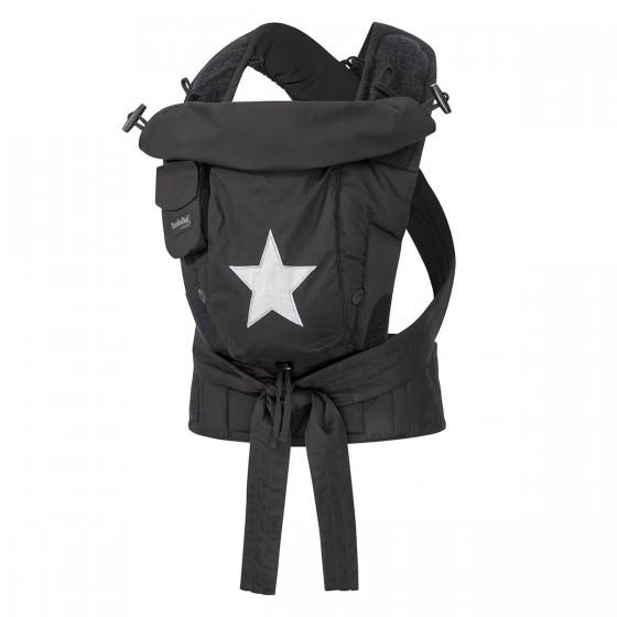Hoppediz Babytrage Bondolino Plus schwarz mit Stern