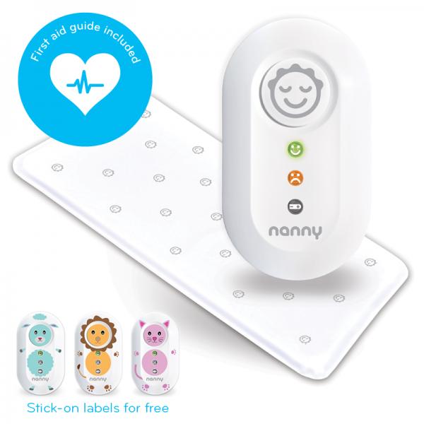 NANNY Atmungsmonitor für Babys inkl. Sensormatte