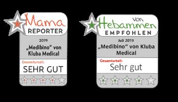 Medibino von Hebammen empfohlen