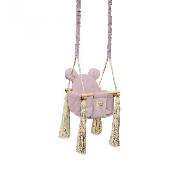 BabySteps Kinderschaukel Velvet Swing - Sepia rose