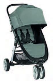 Kinderwagen Baby Jogger City Mini 2 - 3 Rad Slate