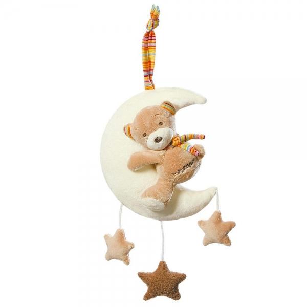 Fehn Spieluhr Teddy auf Mond