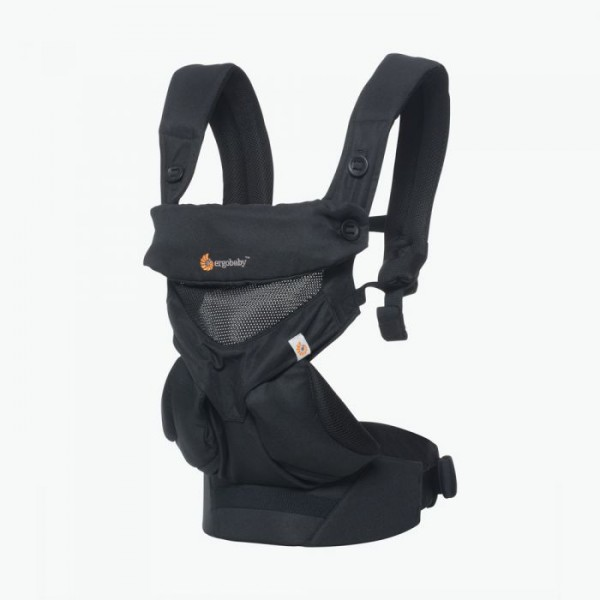 Ergobaby Babytrage Carrier 360 Cool Air Mesh - Onyx Black