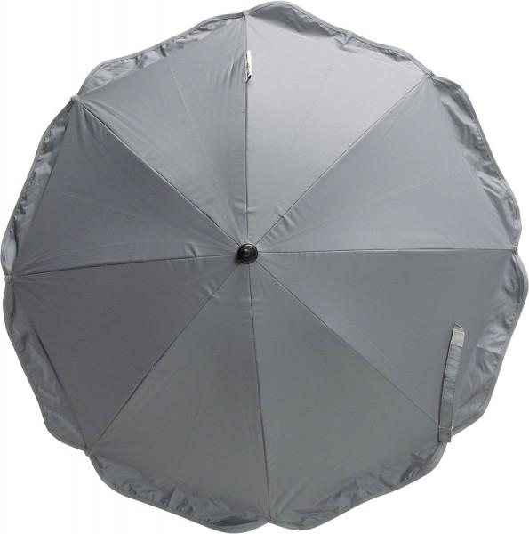 Playshoes Sonnenschirm mit Clip & Erdspieß, grau