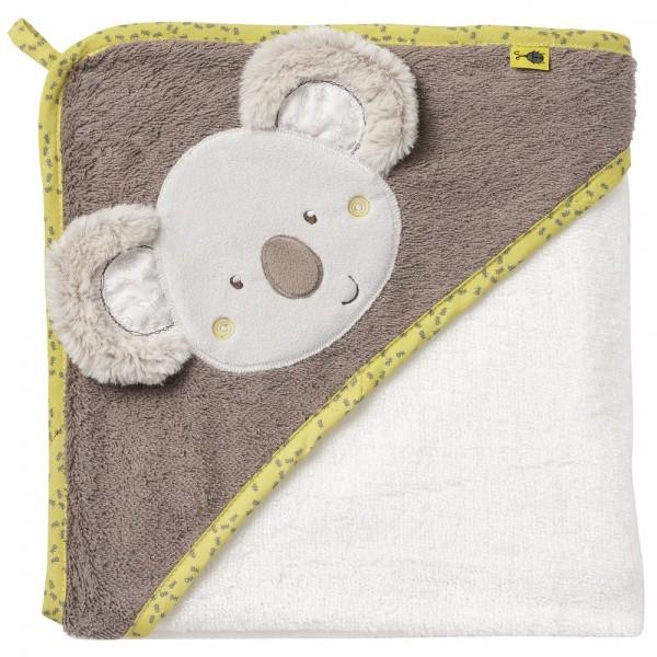 Fehn Kapuzenbadetuch Koala