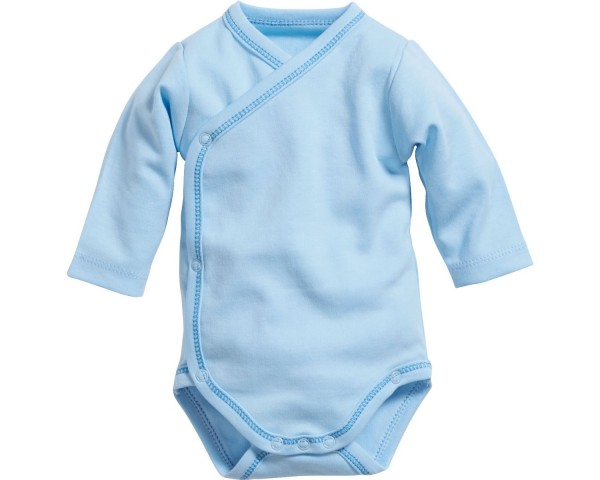 Schnizler Baby - Wickelbody basic blau Gr. 50