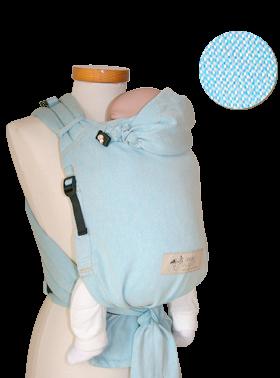 Storchenwiege Babytrage BabyCarrier aqua