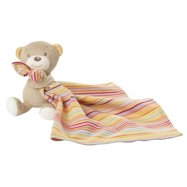 Fehn Teddy mit Schmusetuch