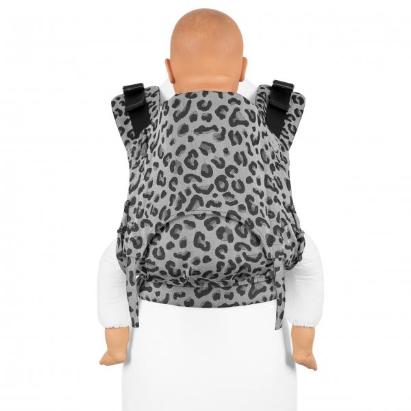 Fidella Fusion 2.0 Babytrage Leopard silber