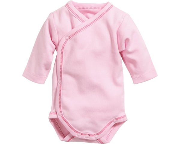 Schnizler Baby - Wickelbody basic rosa Gr. 56