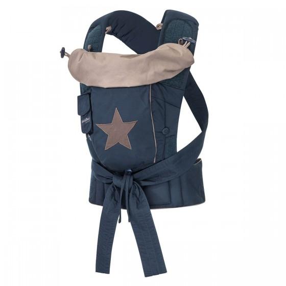 Hoppediz Babytrage Bondolino Plus grau mit Stern