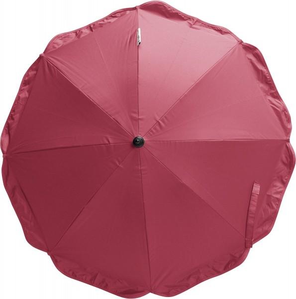 Playshoes Sonnenschirm mit Clip & Erdspieß, rot