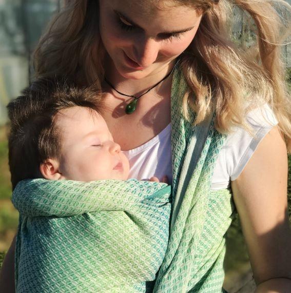 Didymos Babytragetuch Facett Wasabi Gr.6