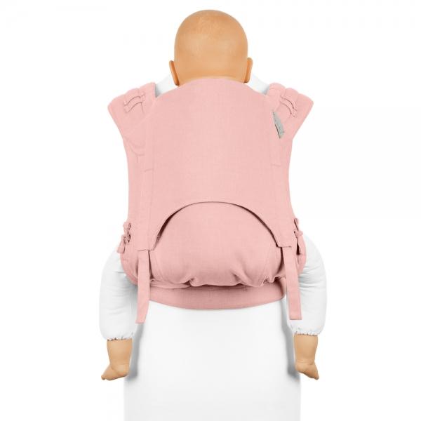 Fidella FlyClick Plus Babytrage Chevron rosé