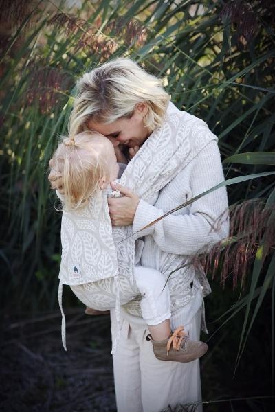 LIMAS Babytrage mit Leinen - Valerie | Wendetrage