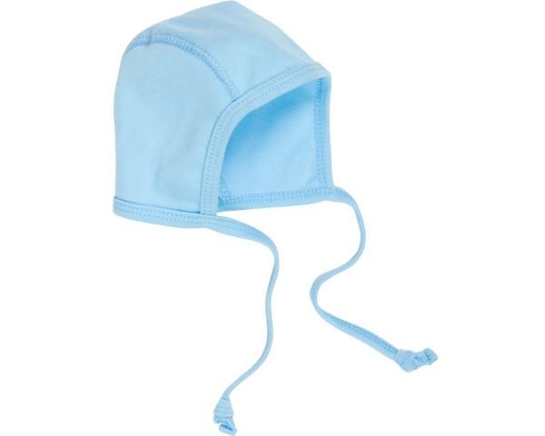 Schnizler Baby - Erstlingsmütze Interlock Jungen blau