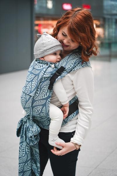 LIMAS Babytrage Plus Valerie Dark Mint
