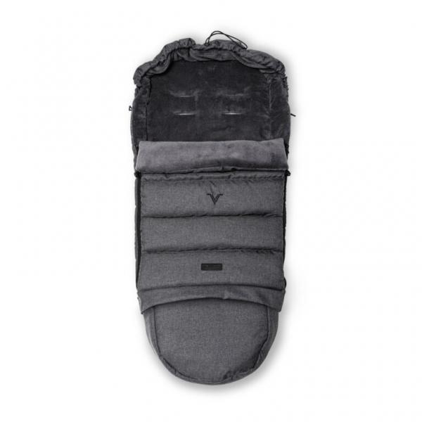 VELVETT Fußsack Grey Melange
