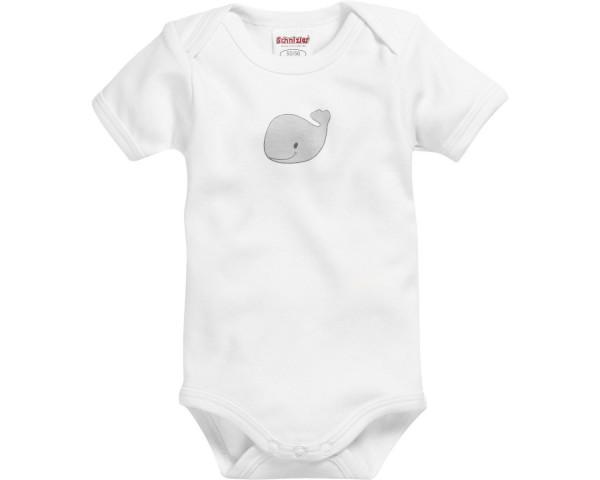 Schnizler Baby - Body Unisex 1/4-Arm 2er Pack Wal rot