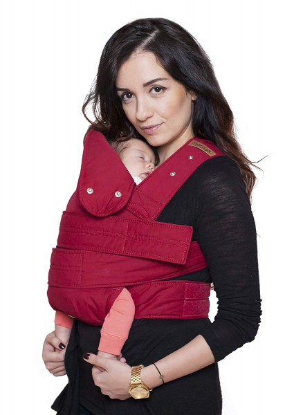 marsupi Babytrage classic 2.0, XL ruby red