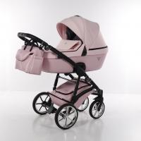 JUNAMA Kombi Kinderwagen Termo Line Mix pink