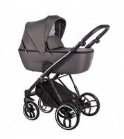 Baby Merc Kombikinderwagen La Rosa LN06 - braun/schwarz
