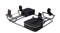 ZEKIWA Babyschalen-Adapter Maxi Cosi, Cybex & Kiddy - Sport DUO Zwillingswagen