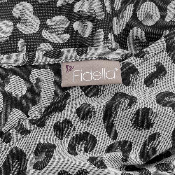 Fidella Tragetuch Leopard silber Gr.6