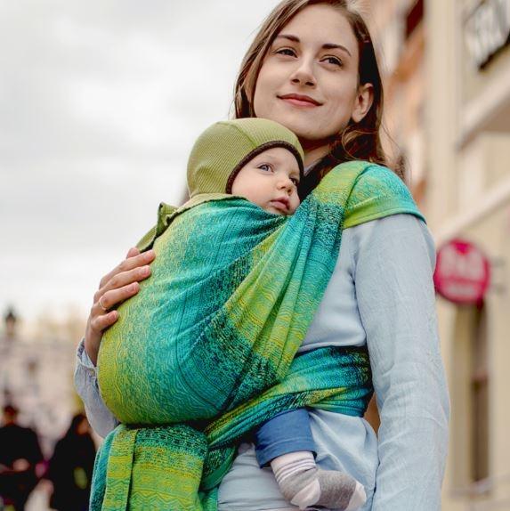 Didymos Babytragetuch Ada Malachit Gr.8