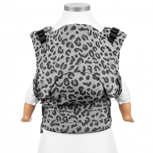 Fidella Fusion Babytrage Leopard silber