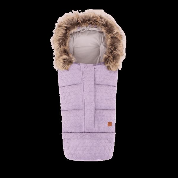 Navington Winterfußsack VELVET Lavendel