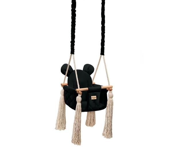 BabySteps Kinderschaukel Velvet Swing - Black