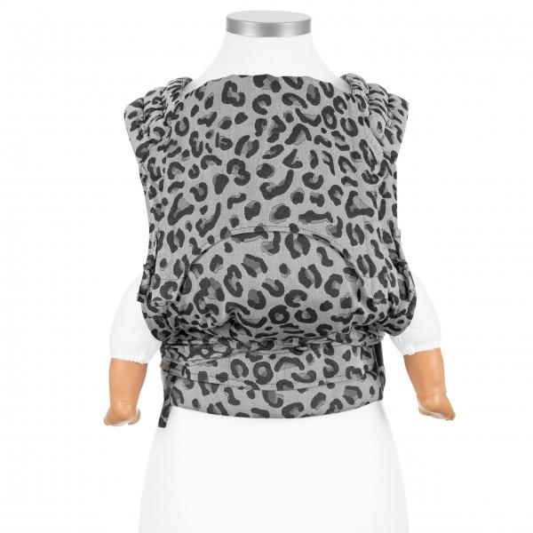 Fidella FlyClick Babytrage Leopard silber