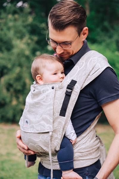 LIMAS Babytrage Plus mit Leinen - Ozeana