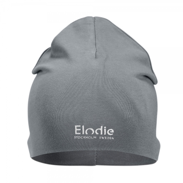 Elodie Logo Beanie Tender Blue, 48-50 cm, 1-2y