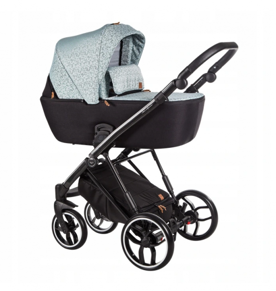 Baby Merc Kombikinderwagen La Rosa LN03 - mint/schwarz