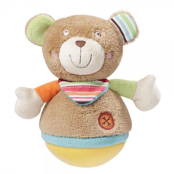 Fehn Stehauf Teddy, Oskar, mehrfarbig