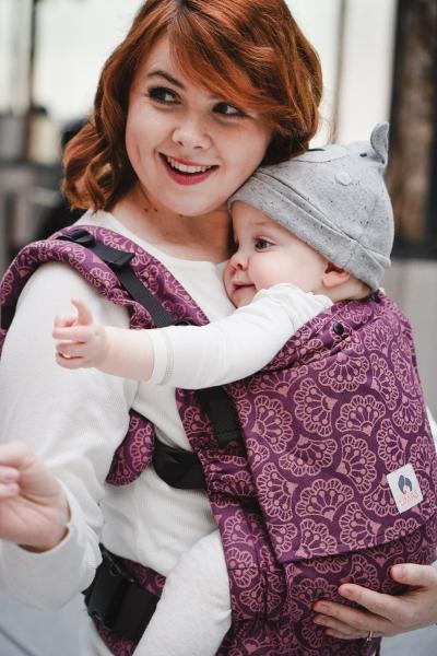 LIMAS Babytrage Flex Ginko Blackberry