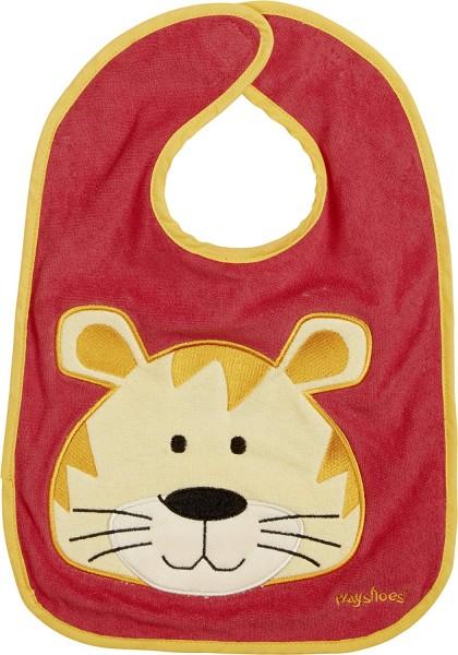 Playshoes Klett-Lätzchen Tiger, rot