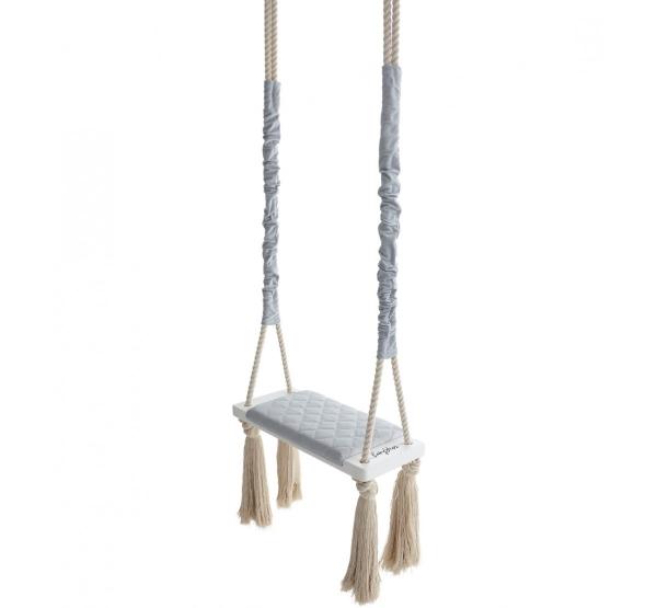 BabySteps Kinderschaukel Wood Swing - Gray