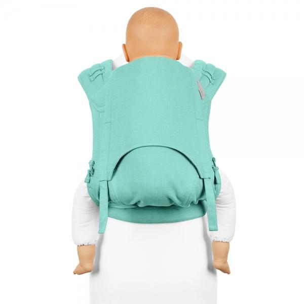 Fidella FlyClick Plus Babytrage Chevron mint