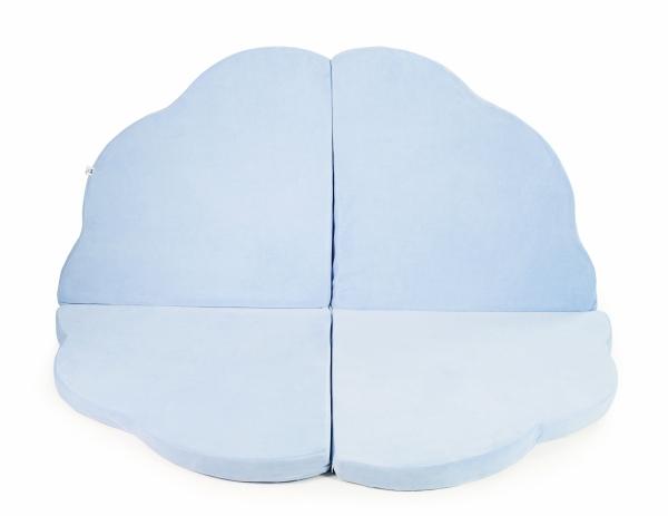 MeowBaby Baby Spielmatte Wolke, hellblau