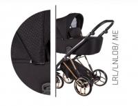 Baby Merc Kombikinderwagen La Rosa Ltd. LNL08 - schwarz/roségold