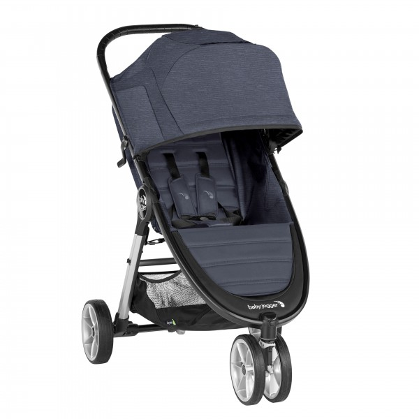 Kinderwagen Baby Jogger City Mini 2 - 3 Rad Carbon