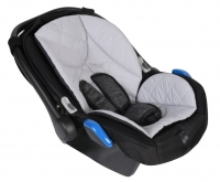 ZEKIWA Babyschale ATS Complete black/grey (ISOFIX)