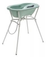 Rotho Babydesign Badewannen-Set Top swedish green, 4-tlg. mit Wannenständer